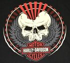 Harley-Davidson Men's T-Shirts, Various Great Graphics Designs in Black Large!!! $16.99 USD on eBay