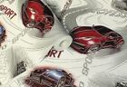 Racing / Street Cars, Washable, Textured Cushioned Vinyl Wallpaper