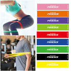 US Set 9 Heavy Duty Resistance Band Loop Exercise Yoga Workout Power Gym Fitness image