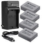 LP-E5 LPE5 Battery + Charger For Canon Rebel XS XSi T1i 450D 1000D 500D Kiss X3