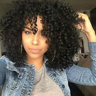 black curly hairstyle - Afro Kinky Curly Wigs for Black Women Black Synthetic Wigs African Hairstyle