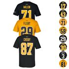 Pittsburgh Penguins NHL Reebok Player Name & Number Premier Jersey T-Shirt Men's on eBay