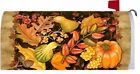 Welcome Autumn Harvest Fall Leaves Mailbox Wrap Cover