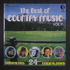 VARIOUS: Best Of Country Music, Vol. 7 LP Sealed (saw mark, small shrink missin