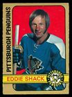 1972 73 OPC O PEE CHEE HOCKEY #274 ED SHACK EX+ PITTSBRUGH PENGUINS MAPLE LEAFS