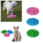 Pet Dog Cat Puppy Animals Slow Feed Bowl Dish Silicone Slows Eating Feeder