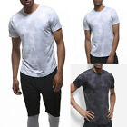 New Men's S-2XL Tops Tee Shirt Slim Fit Short Sleeve Camo Sport Casual T-Shirts