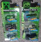 Hot Wheels 2017 Mineraft Character Cars Diecast Vehicles (Complete set of 6)