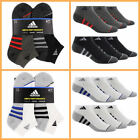Adidas Men's Low Cut Sock with Climalite 6-pair White or Black