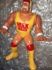 "Hasbro WWF HULK HOGAN Rules Action Figure 1990 4.5"" LOOSE Terry Bollea WWE WCW"