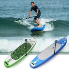 """10 Ft Thinck 6"""" SUP Inflatable Stand Up Paddle Board & Adjustable Paddle"""