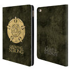 OFFICIAL HBO GAME OF THRONES DARK SIGILS LEATHER BOOK WALLET CASE FOR APPLE iPAD