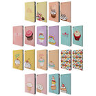 HEAD CASE DESIGNS CUPCAKES HAPPINESS LEATHER BOOK WALLET CASE FOR APPLE iPAD