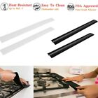 Silicone Stove Counter Kitchen Gap Cover Heat Resistant Protection  Pad 2PCS Hot