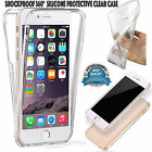 Shockproof 360° SiliconeClear Case Cover For Apple iPhone 5/SE/5C/5S/6/6 PLUS/7+