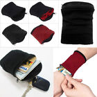 Pocket Sports Gym Key Coin Zipper Travel Running Money Wrist Wallet Purse 4Color