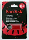 BRAND NEW and SEALED! SanDisk 64GB USB Flash Drive Cruzer Dial! FREE SHIPPING!