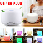 7 LED Color Essential Oil Diffuser 500mll Aroma Mist Ultrasonic Air Humidifier
