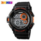Reloj hombre deportivo crono alarma Skmei Sports men's watch rubber band LED