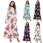 BOHO Womens Long Evening Party Cocktail Prom Floral Beach Party Maxi Dress