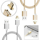 M2S 2.1A Magnetic Micro USB Daten Sync Ladegerät Kabel Kabel für Android Samsung