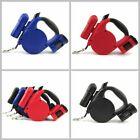 1PC Pet Dog Retractable Extendable Leash Lead LED Flashlight With Garbage Bag