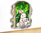 M500 Bunny Rabbits Forest Animals Canvas Picture Poster Wall Art Stickers Room