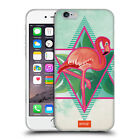 OFFICIAL EMOJI FLAMINGOS SOFT GEL CASE FOR APPLE iPHONE PHONES