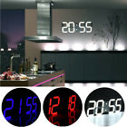 LED Digital Large Big Wall Desk Alarm Clock Watch Timer Countdown Thermometer CO