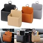 Car Accessories PU Leather Pouch Bag Mobile Phone Holder Auto Outlet Air Vent JJ