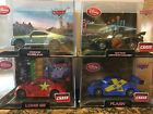Dismey Cars Lot of 4 Prince Wheeliam, Hot Rod Lightening McQueen, Flash, Long GE
