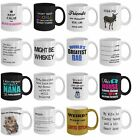 Funny coffee tea mugs best gift for mom dad nurse nana wife friends cat lovers
