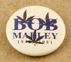 Bob Marley 1946-1981 Vintage Pin 30mm
