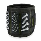 Tool Magnetic Wristband Strong Hold Screws Nails For Handymen Electricians Gift