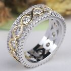 Silver Color Wedding Ring Engagement Rings Zirconia Anel Jewelry For Women Gift