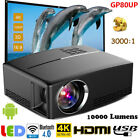 Multimedia 4K WiFi Android Bluetooth 3D LED Home Cinema Projector 7000 Lumens CO