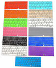 """Silicone Keyboard Cover Skin for Macbook 12"""" with Retina Model A1534 13 Colors"""