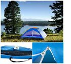 Happy Camper Two Person Tent Camping Hiking Shelter Outdoor Camp With Carry Bag