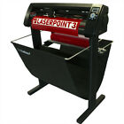 LaserPoint 3 Vinyl Cutter Plotter w/ARMS Contour Cutting + Stand + Media Basket