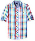 US Polo Assn. Childrens Apparel U.S. Big Boys All Cotton Clean Front