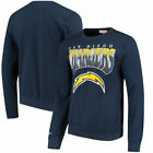 Los Angeles Chargers Mitchell & Ness Rushing Line Pullover Sweatshirt - Navy $59.99 USD on eBay