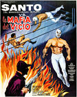Santo vs The Vice Mafia - 1971 - Movie Poster
