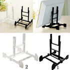 Adjustable Display Stand Easel Plate Holder Picture Photo Frame Art Decor