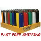 Full Size BIC Cigarette Lighters Assorted Color Multi Purpose (Not Clipper)
