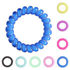 3X Women Girls Telephone Line Hair Ring Hair Accessories Head Rope Jelly Candy