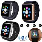 Bluetooth Smart Watch Sport Wrist Watch For Android Samsung S8 S7 S6 Note 5 IOS