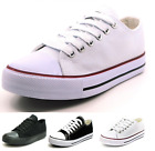 New Mens Classic Lace Up Canvas Shoes Athletic Sneakers Casual Fashion Siz