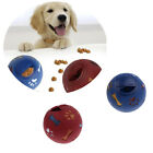 Pet Dog Chew Toy Food Dispenser Rubber Ball Bite-Resistant Clean Teeth S / M / L