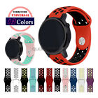 Universal Quick Release 20mm 22mm Watch Band Soft Silicone Sport Wrist Strap image