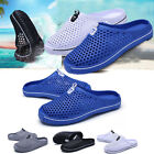 New Summer Men's Breathable Slippers Hollow-out Beach Sandals Comfort Hole Shoes